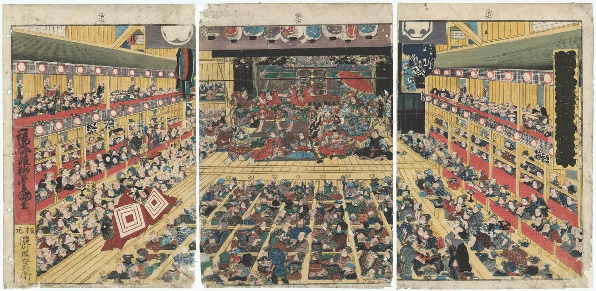 浮世繪 歌舞伎町