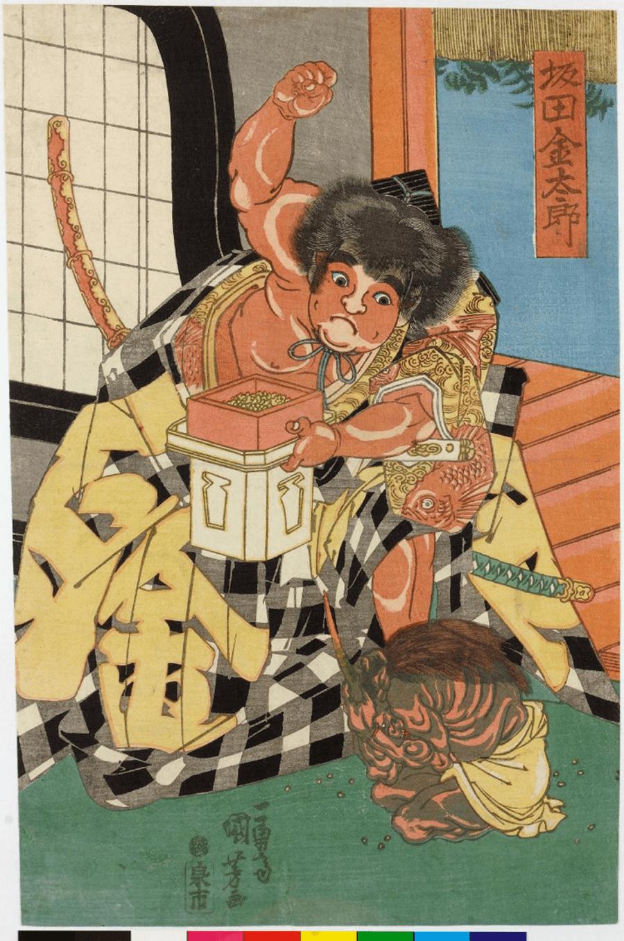 日本國寶浮世繪 x 透明 日文 翻譯